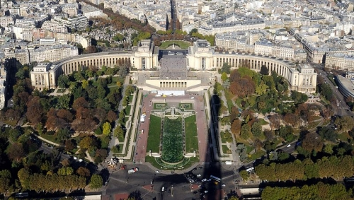 palais de chaillot,cité de l'architercture,paris,Trocadéro