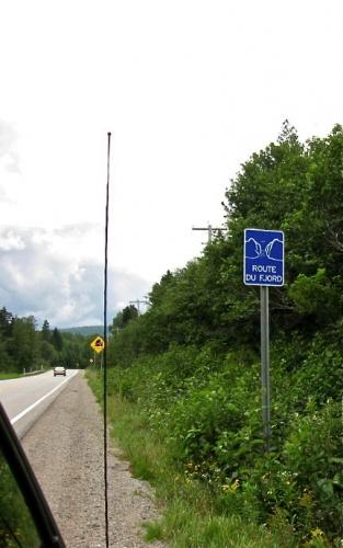 route du fjord,saguenay,étrange,loin