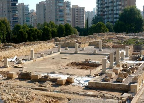Lucentum,Espagne,Alicante,site archéologique,MARQ