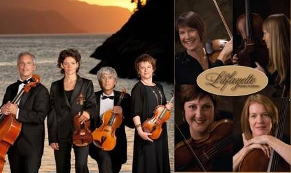 quatuor saguenay,quatuor lafayette,niels wilhem gade,octuor,mendelssohn