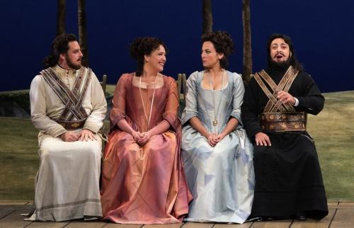 Cosi fan tutte, Metropolitan Opera,Susanna Phillips, Isabel Leonard, James Levine