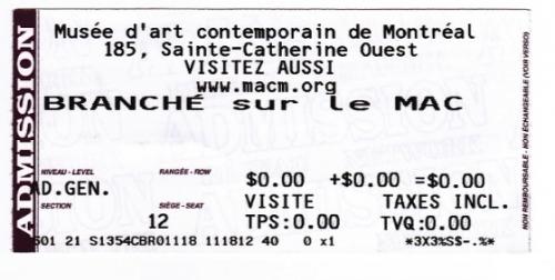 MAC, Montréal, Branché sur le MAC