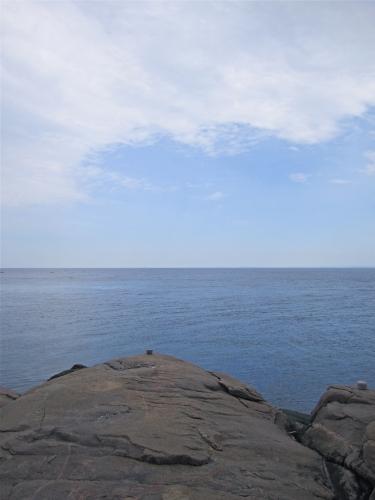 Tadoussac, cap Bon désir, fleuve Saint-Laurent, baleines
