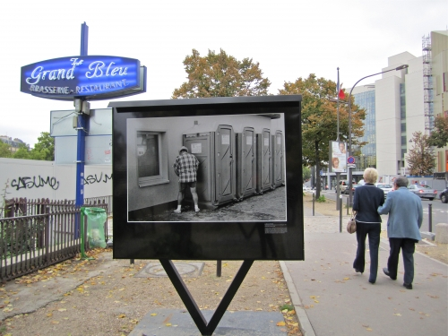 chiotissime, toilettes, latrines, Paris, exposition, photos, 2010