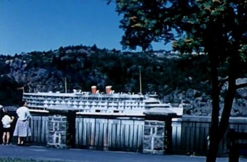 richelieu,st-lawrence,tadoussac,canada steamship lines,navire,croisière,enfance,souvenir,chicoutimi,saguenay,abbé maurice proulx