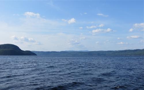 fjord du saguenay,croisière,bleu