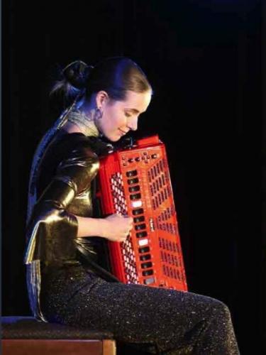 Jelena Milojevic, Jeunesses Musicales, accordéon, Jonquière