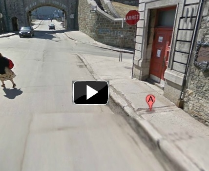 québec,chapelle des jésuites,maison dauphine,bourgault,hamel,histoire,patrimoine religieux