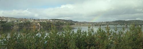 Rivière Saguenay, Chicoutimi, Arvida, intercar