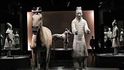 empereur guerrier,chine,musée des beaux-arts,montréal