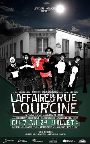 rue Lourcine,100 Masques, Dario Larouche, Labiche