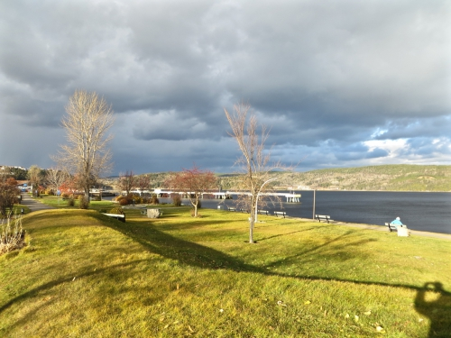 La Baie, froid, soleil, Baudelaire, quai des croisières, soleil d'hiver