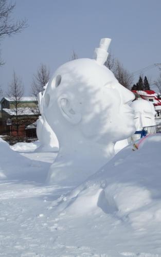 jonquiere en neige