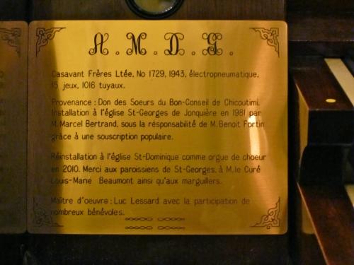 casavant,st-dominique,jonquière,luc lessard,marie-hélène greffard