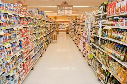 marché,supermarché,circulation,caddie