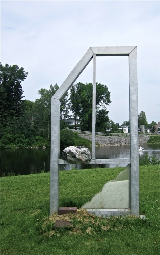 Karol Proulx, Une fenêtre sur la rivière, Jonquière, Rivière-aux-Sables