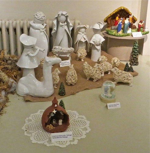 Noël, crèches, Rivière-Éternité, Oratoire