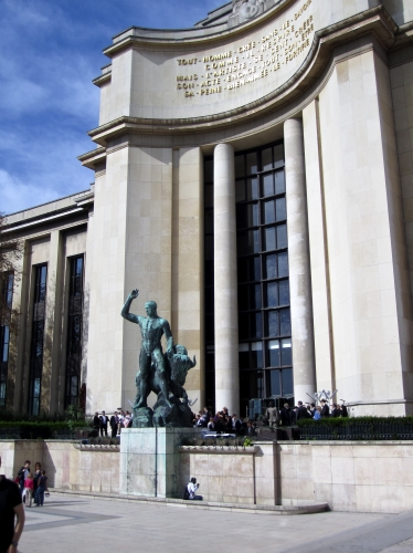 palais de chaillot,cité de l'architercture,paris,carrousel