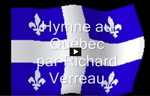 Fête national, hymne au Québec, Richard Verreau