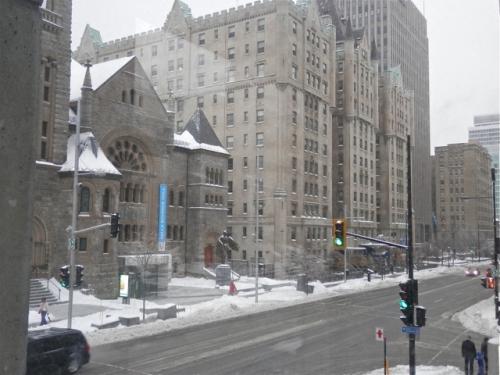 Montréal, verglas, ithq, janvier2015, musée des beaux arts de montréal, métro, autobus, rue Sherbrooke