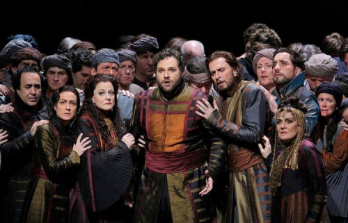 Les Troyens, Metropolitan Opera, Bryan Hymel, Susan Graham, Deborah Voigt, Fabio Luisi