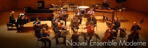 NEM, Montréal, Nouvel Ensemble Moderne, Lorraine Vaillancourt, conventum, Bon Pasteur, Chicoutimi