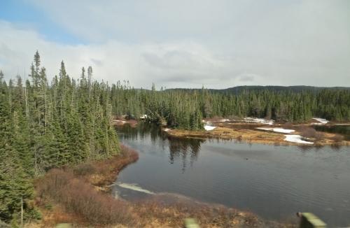 Québec, Saguenay, Parc des Laurentides, autocar, photos, lacs
