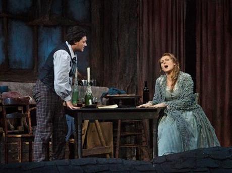 La Bohème, Puccini, cinéma Jonquière, Kristine Opolais, Vittorio Grigolo, Susanna Phillips, Metropolitan Opera, Zefirelli