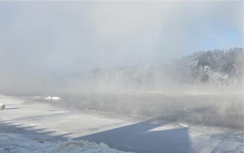 saguenay,brume,brouillard,photos,hiver