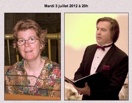 jean-françois lapointe,céline fortin,baryton,cathédrale de chicoutimi,concerts d'été
