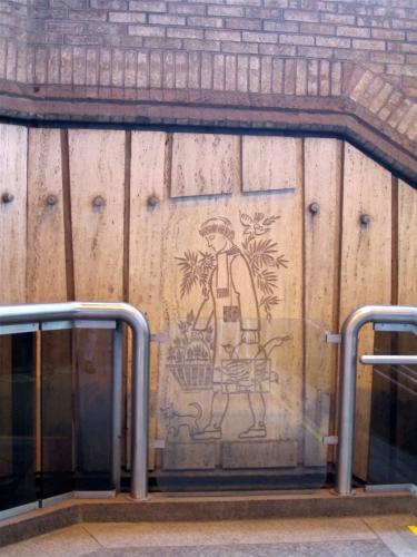 jean-charles charuest,montréal,métro,de castelnau,oeuvres,chien