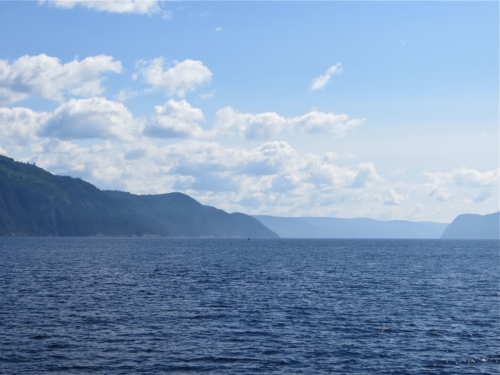 Fjord du Saguenay, croisière, bleu
