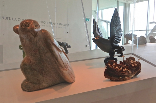 mnbaq,pavillon lassonde,québec,art inuit,collection brousseau