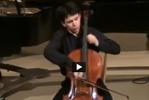 Stéphane Tétreault, Zhengyu Chen, Jeunesses musicales, violoncelle, piano, Brahms, Schubert, Bach, Jonquière, Salle Pierrette-Gaudreault