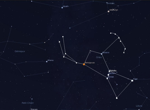 orion,constellation,nuit,blaise cendrars