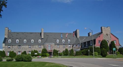 Manoir du Saguenay, Britanny ROw, Arvida, panneaux d'interprétation