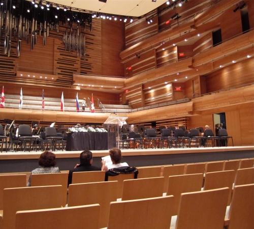 maison symphonique, Montréal, Philippe Sly, John Brancy, OSM, salle