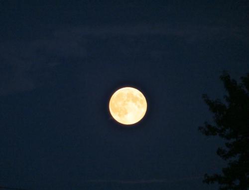 lune, super lune