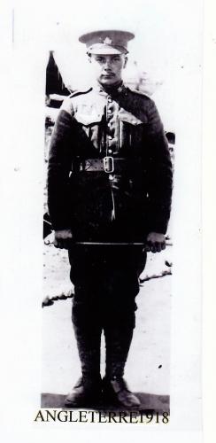 guerre 14-18, Lucien Pelletier, soldat, armée, Angleterre, Armistice