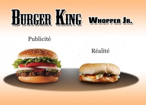BurgerKing, Chicoutimi, publicité, ketchup