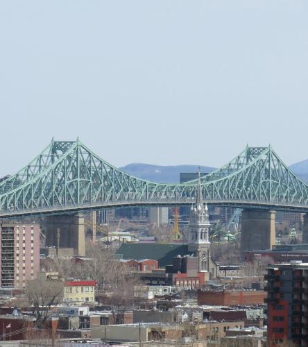 Montréal, ITHQ, séjour, hôtel, pont Jacques-Cartier