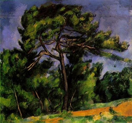 vieux pin,cépal,jonquière, Cézanne, pin parasol