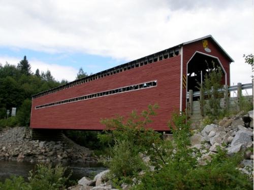 Pont Louis-Gravel, Tadoussac, Sacré-Coeur