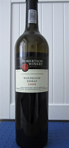 vin, syrah, shiraz, Wolkloof, sauce tomates, François Chartier,