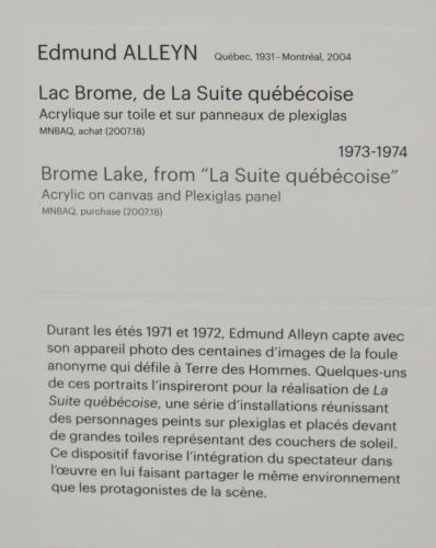 edmund alleyn,lac brome,suite québécoise,québec,mnbaq,musée,pavillon lassonde