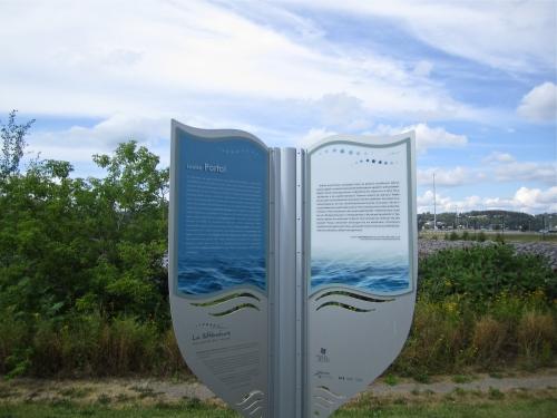 la littérature aux abords des rivières,rivière aux sables, Louise Portal, rivière chicoutimi,saguenay,auteurs,salon du livre