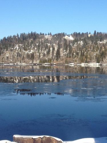 saguenay,rivière saguenay,hiver