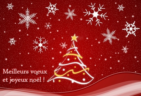 Voeux, Noël, 2011