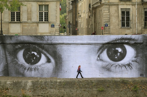 JRartiste, street art, Paris, photo, installation